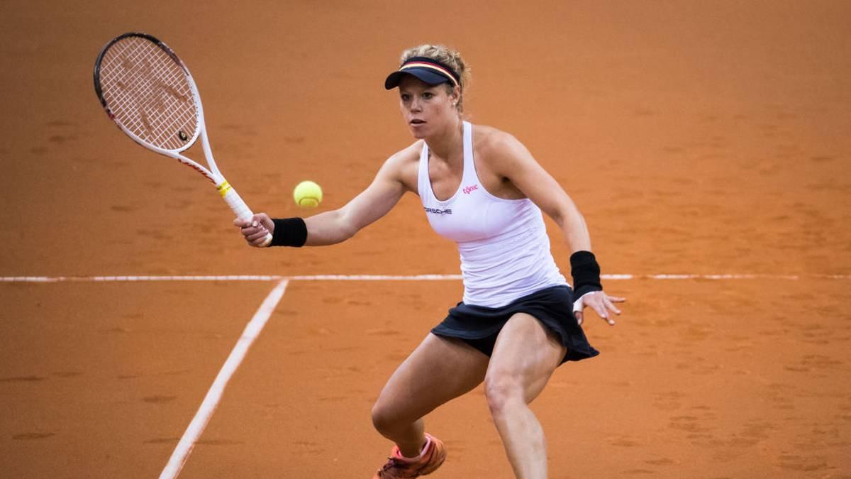Laura Siegemund beginnt für das deutsche Team beim Fed Cup