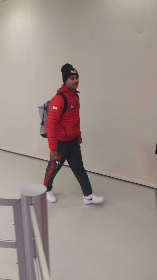 Serge Gnabry verließ am Mittwochabend wortlos die Allianz Arena