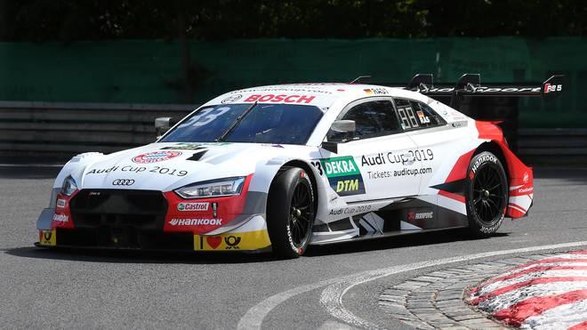 Audi-Pilot Rene Rast triumphiert beim DTM-Rennen auf dem Norisring
