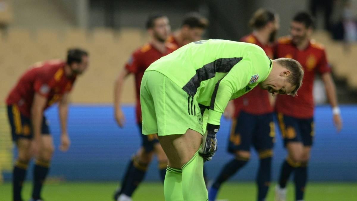 Manuel Neuer kassierte sechs Gegentore im Rekordspiel