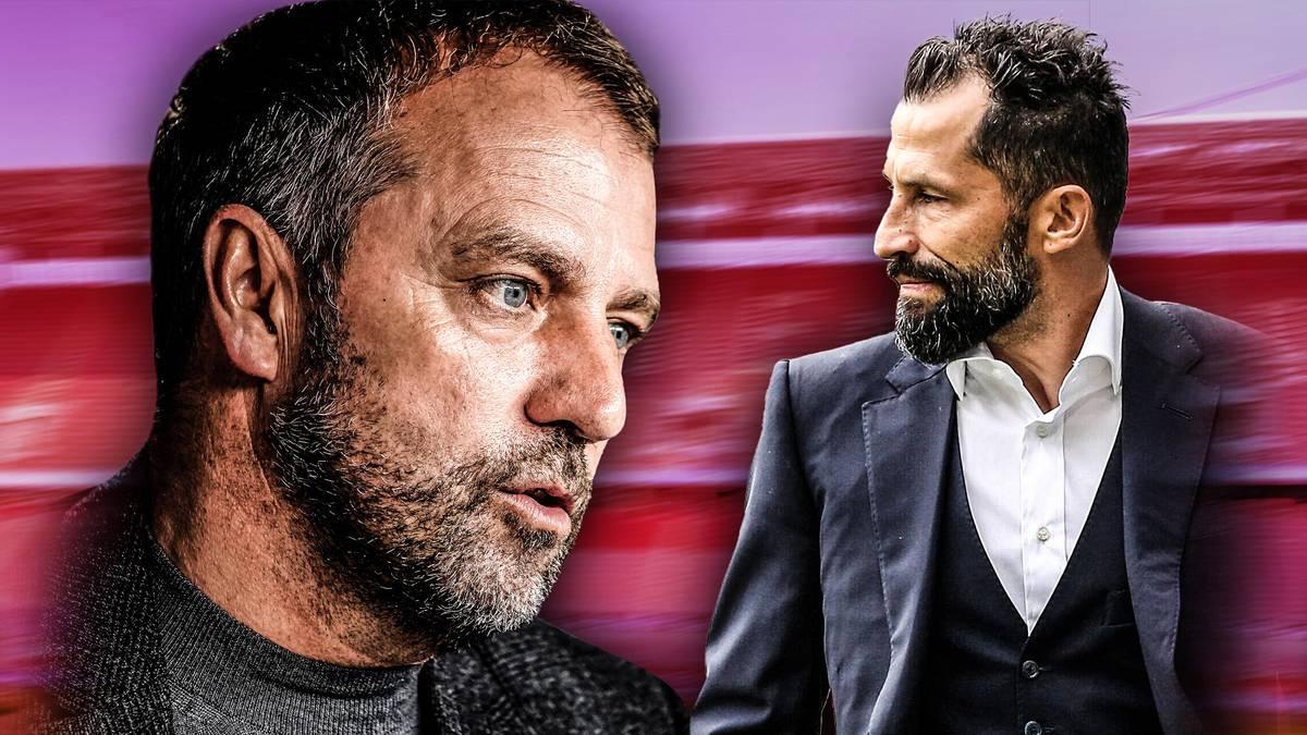 Der Konflikt zwischen Hansi Flick und Hasan Salihamidzic spitzt sich zu. Eine Zusammenarbeit über diese Saison hinaus scheint unmöglich. Wer von den beiden muss am Ende gehen?