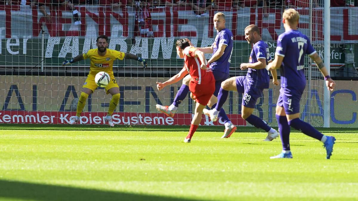 Der 1. FC Kaiserslautern bezwang den VfL Osnabrück