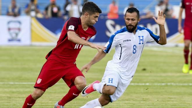 Christian Pulisic und die USA mussten sich gegen Honduras mit einem Remis begnügen
