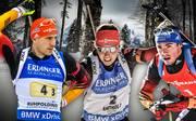 Der DSV-Kader bei der Biathlon-WM