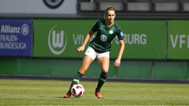 Lena Goeßling steht mit dem VfL Wolfsburg im Halbfinale des DFB-Pokals