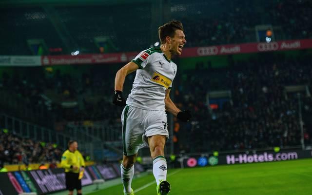Patrick Herrmann machte beim Sieg von Borussia Mönchengladbach gegen den FC Augsburg alles klar