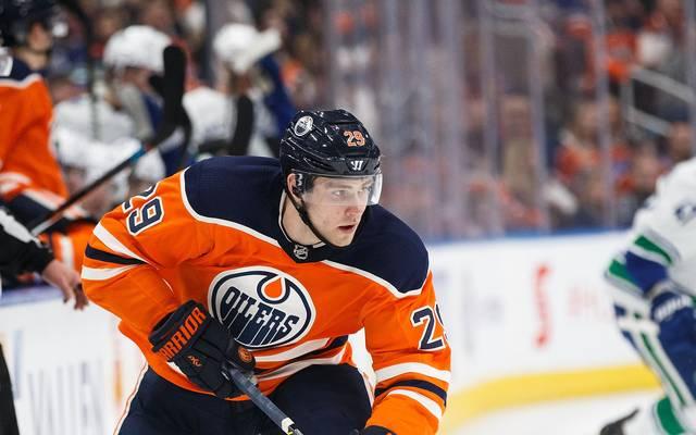 Leon Draisaitl verliert mit den Edmonton Oilers gegen die Vegas Golden Knights