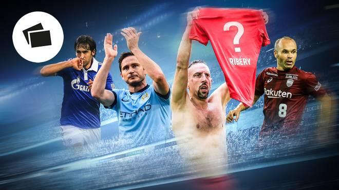Fußball-Legenden, die einen Klub über Jahre geprägt haben