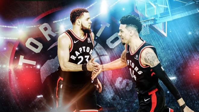 Toronto Raptors: Danny Green (r.) und Fred VanVleet prägen die Playoffs der NBA