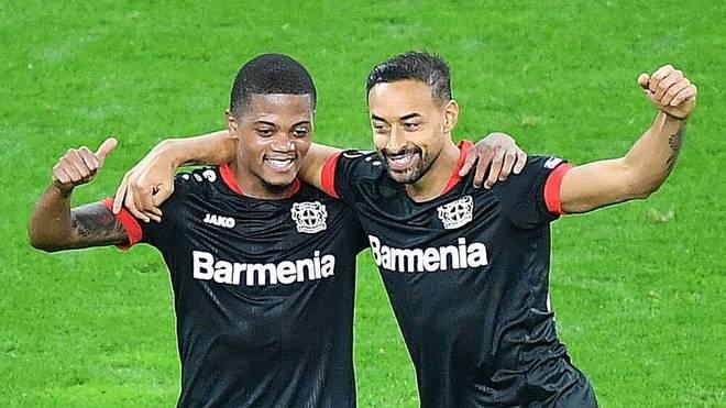 Bayer Leverkusen überzeugte zuletzt in der Europa League beim 6:2 gegen Nizza