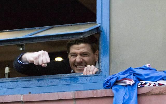 Steven Gerrard ist Meister mit den Glasgow Rangers