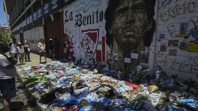 Weitere Befragungen werden zum Tode Diego Maradonas durchgeführt