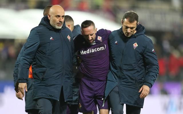 Franck Ribéry wird der AC Florenz zwei Wochen fehlen