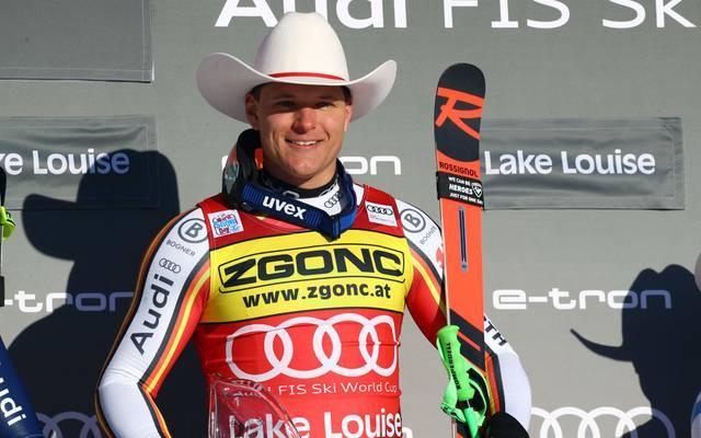 Thomas Dreßen gewann sensationell die Abfahrt in Lake Louise