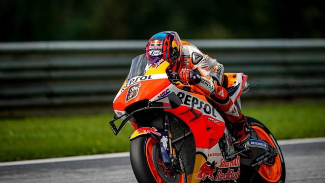 Stefan Bradl hofft auf einen Stammplatz in der MotoGP