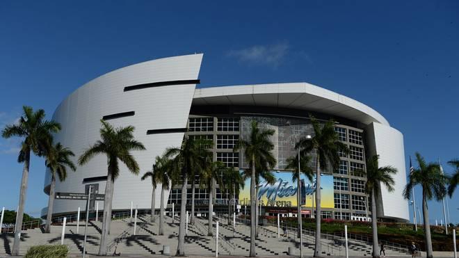 Die American Airlines Arena ist die Heimspielstätte der Miami Heat