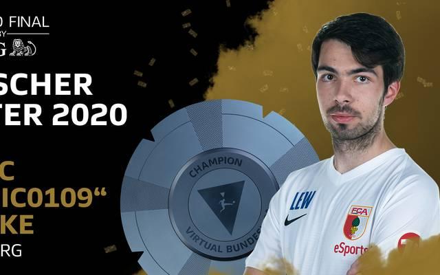 """Der Augsburger Yannic """"Yannic0109"""" Bederke gewinnt die Deutsche Meisterschaft in FIFA 20"""
