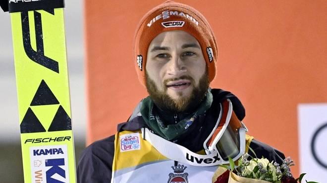 Eisenbichler sprang in der Qualifikation auf Platz eins