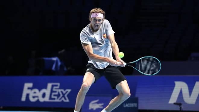 Alexander Zverev ist Titelverteidiger bei den ATP Finals