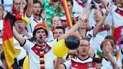 Finale! Die deutschen Fans im Maracana sind vor dem Endspiel der DFB-Elf gegen Argentinien bester Stimmung