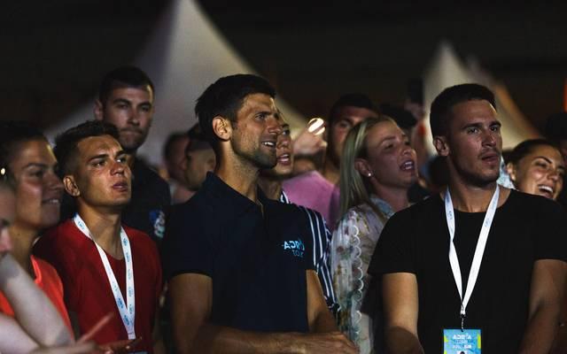 Von wegen Hygienemaßnahmen: Novak Djokovic stieß zuletzt viele Beobachter vor den Kopf mit seiner Haltung zu Corona