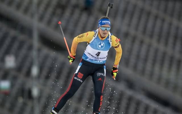 Franziska Preuß erhält Pause im Mixed-Wettbewerb