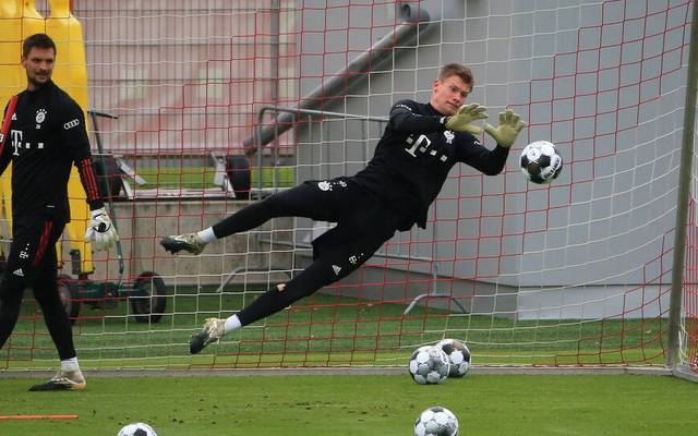 Alexander Nübel wird gegen den BVB im Kader stehen