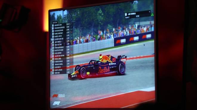Das virtuelle Formel-1-Rennen in Bahrain sorgte für Unterhaltung