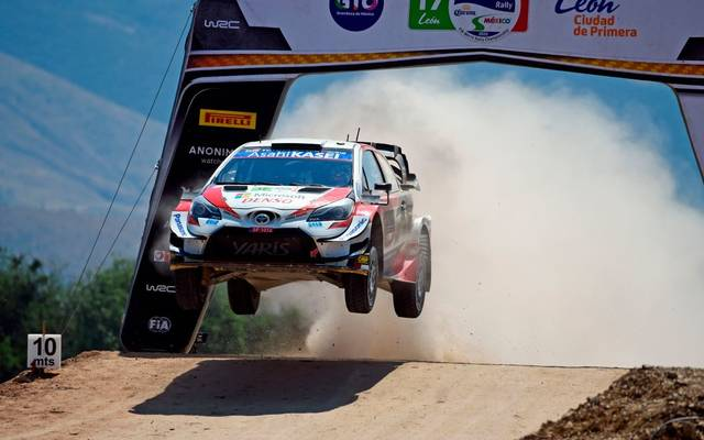Sebastien Ogier hat die Rallye Mexiko gewonnen
