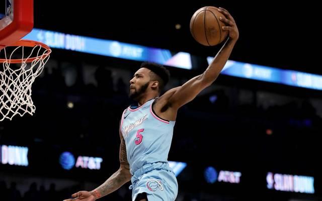 Derrick Jones Jr. nahm 2020 am Slam-Dunk-Contest der NBA teil
