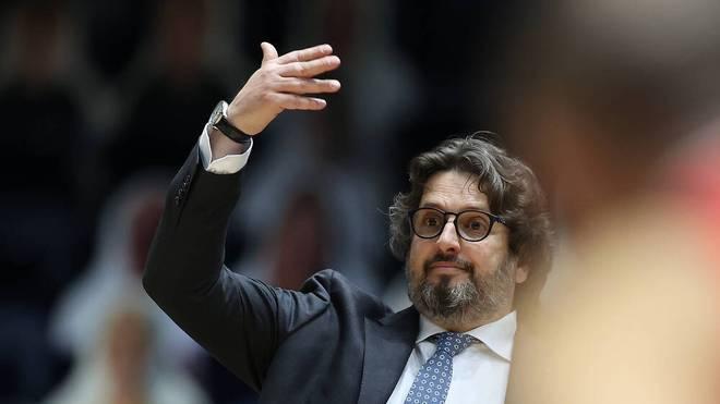 Andrea Trinchieri nahm die Pleite in Spanien auf seine Kappe