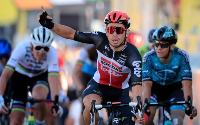 Caleb Ewan gewann die 11. Etappe der diesjährigen Tour de France