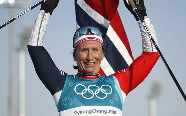 Marit Björgen ist die erfolgreichste Winterolympionikin