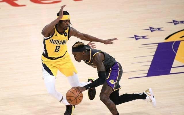 Schröder feierte mit den Lakers wieder einen Sieg