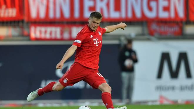 Lars Lukas Mai hat seinen Vertrag bei Bayern München vorzeitig verlängert