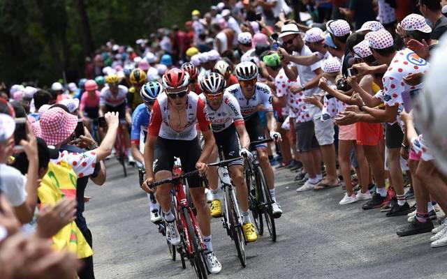 Die Tour de France ist bekannt für ihre enthusiastischen Fans