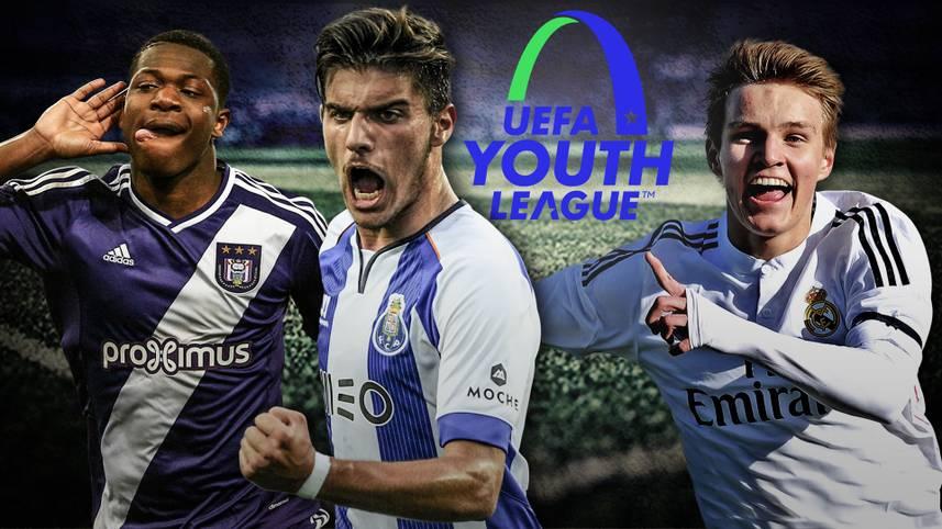 Sie sind die Champions der Zukunft: In der UEFA Youth League (Ab 13.30 Uhr im LIVESTREAM) kämpfen die Stars von morgen um den Titel. Gleich zehn Youngster haben bereits einen Marktwert von einer oder mehrerer Millionen Euro - doch wer ist der wertvollste Nachwuchsspieler? SPORT1 präsentiert die Top10 (Quelle: transfermarkt.de)
