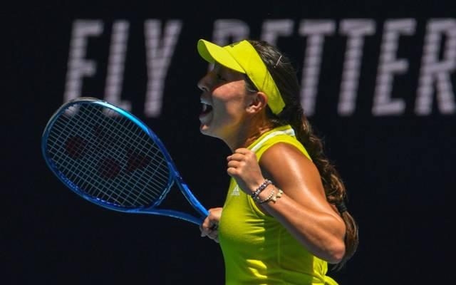 Jessica Pegula steht im Viertelfinale der Australian Open