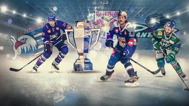 In der Champions Hockey League stehen die  DEL-Vertreter Adler Mannheim, EHC Red Bull München und Augsburger Panther vor der K.o.-Runde