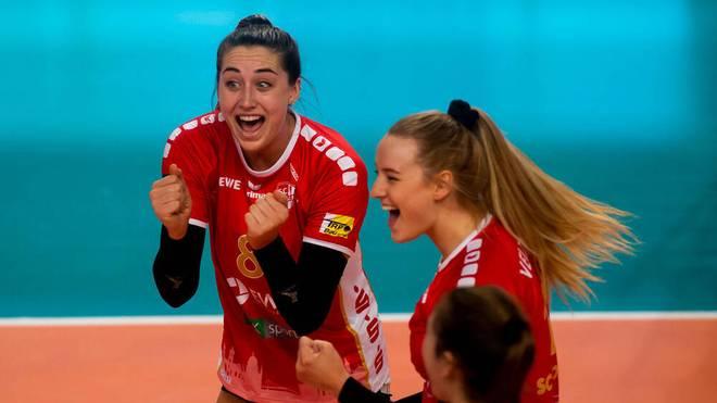 Die Frauen des SC Potsdam wollen den siebten Sieg in der Bundesliga