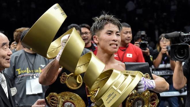 Naoya Inoue hat die Ali Trophy gewonnen