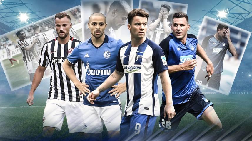 Noch bleibt den Bundesligisten ein bisschen Zeit, um ihre Kader für die neue Saison fertigzustellen - und womöglich auch den einen oder anderen Spieler von der Gehaltsliste zu bekommen. SPORT1 zeigt die Streichliste der Bundesliga-Klubs