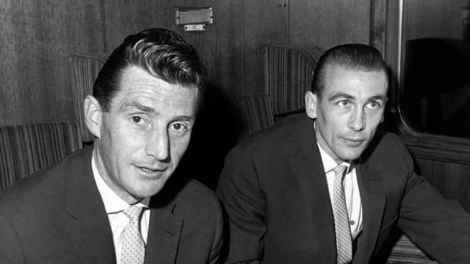 Vater-Sohn-Verhältnis: Fritz Walter (l.) und Horst Eckel