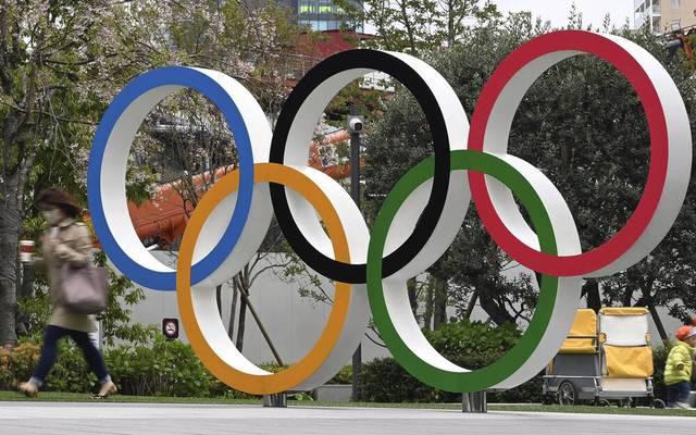 Olympische Symbole: Die Olympischen Ringe stehen für die Kontinente!