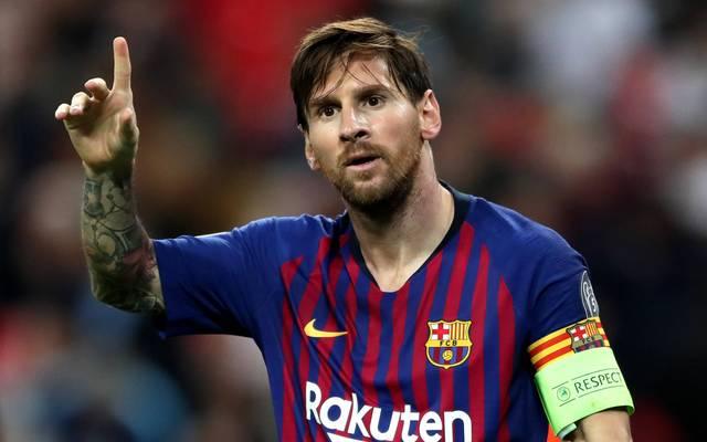 Lionel Messi unterstützt den Kampf gegen Corona
