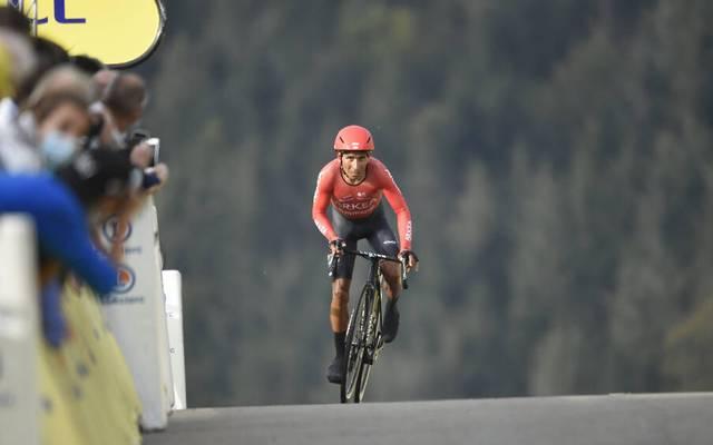 Nairo Quintana wurde bei der Tour de France 2020 17.