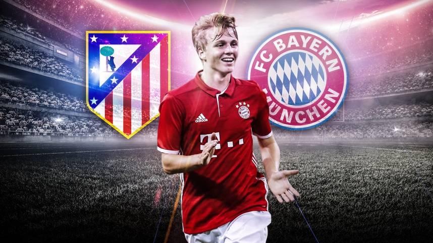 Atletico gegen den FC Bayern ist auch in der UEFA Youth League ein Duell der Extraklasse. SPORT1 übertragt ab 15.55 Uhr LIVE und stellt die Top-Talente beider Teams vor