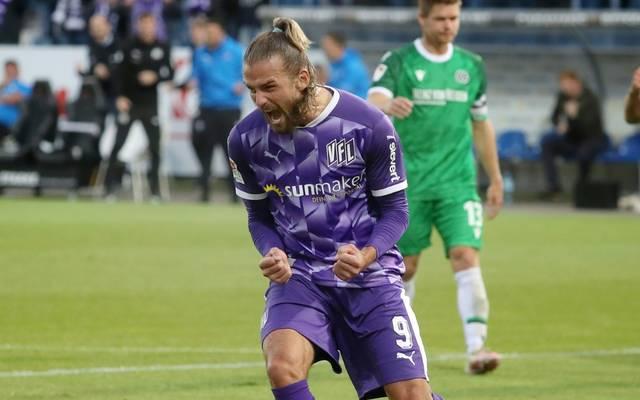 Trotz des Treffers von Santos gewann Osnabrück nicht