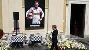 Beisetzung von Jules Bianchi Nico Rosberg