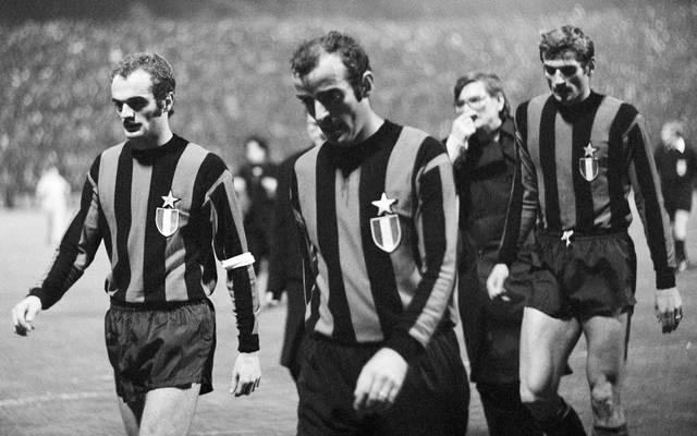 Mario Corso (M.) war auch bei der legendären 1:7-Pleite von Inter bei Borussia Mönchengladbach dabei